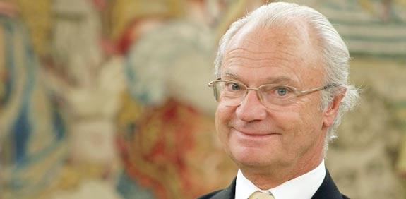 קרל גוסטב, מלך שוודיה / צלם: רויטרס